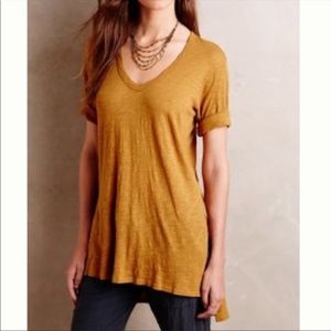 Anthropologie Left Of Center Dimanche Tunic